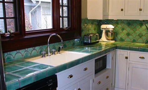 tile countertops  table tops blending beauty