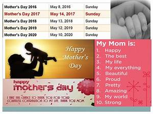 Mothers Day 2017 Date In Pakistan What Is The Date Of ...
