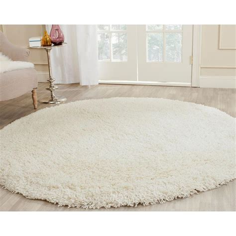 white circle rug nuloom rigo jute white 8 ft x 8 ft area rug