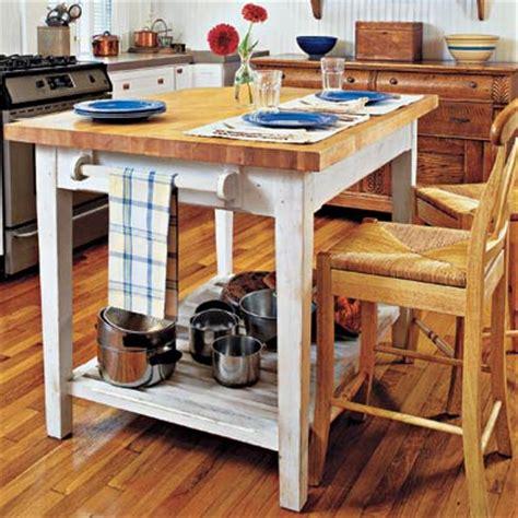 Build A Butcherblock Island  32 Easy Kitchen Upgrades