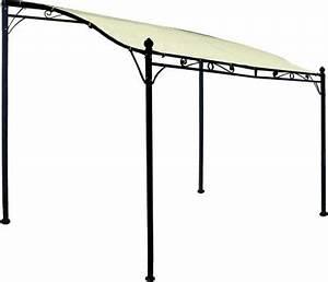 Plane Für Terrassenüberdachung : anbaupavillon mantova 3x2 5 meter stahl dunkel plane pvc beschichtet cru baumarkt xxl ~ Frokenaadalensverden.com Haus und Dekorationen