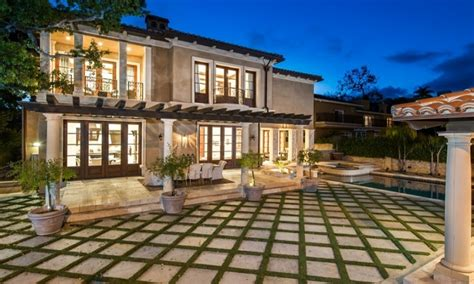 sylvester stallone beverly hills home mediterranean home