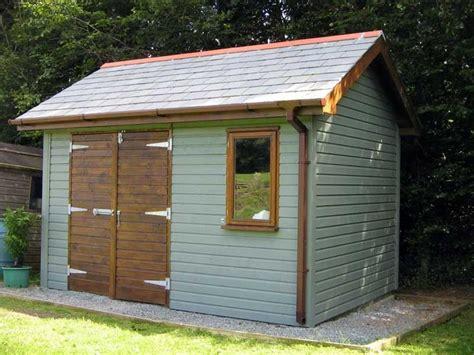 diy timber garden  build shed  garden room  office