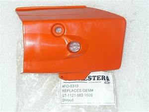 Stihl 026 Pro Chainsaw Top Cover 1121 080 1605  Misc