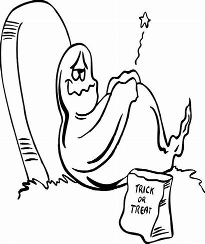Ghost Coloring Pages Printable Halloween Ghosts Printables