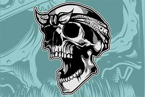 Skull Vector Hand Drawing  Graphic  By Epic Graphic