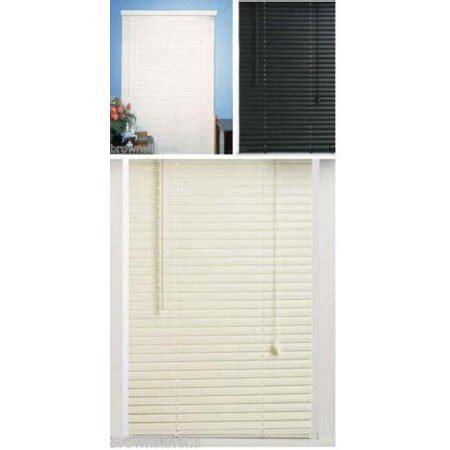 walmart mini blinds vinyl vinyl mini blind alabaster 18 quot x 64 quot walmart