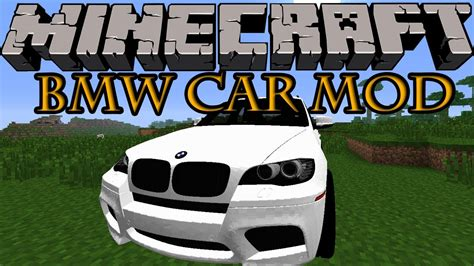 Mod Car Bmw Minecraft 1 5 2 by Minecraft Mods Bmw Car Mod Ride With Style 1 7 2