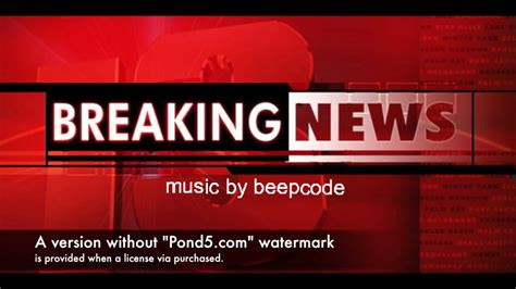 Commercial Background Music Breaking News (royalty Free