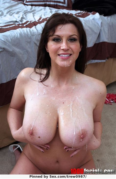 Hot Cum In The Face Pic With A Gorgeous Boobs Trew0987