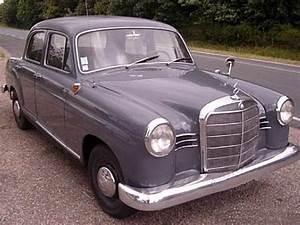 Cote Vehicule Ancien : mercedes 180 ponton 1960 voitures anciennes de collection v2 ~ Gottalentnigeria.com Avis de Voitures