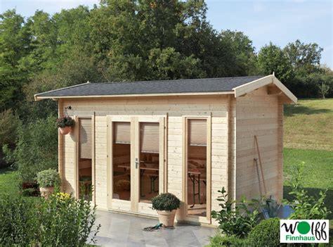 Gartenhaus «410x240cm Holz Haus Bausatz Mit Doppeltür 40