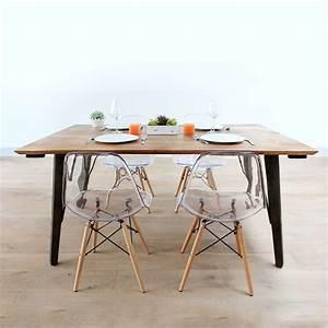 Table Carrée 12 Personnes : je choisis la table a manger moderne qui me plait le blog d co de made in meubles ~ Teatrodelosmanantiales.com Idées de Décoration