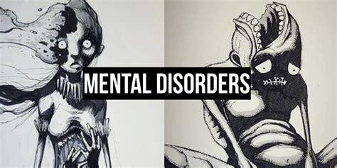 Drawings Dark Mental Illnesses