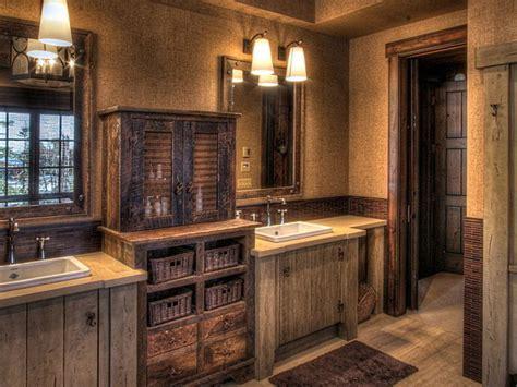Western Bathroom Vanities Style