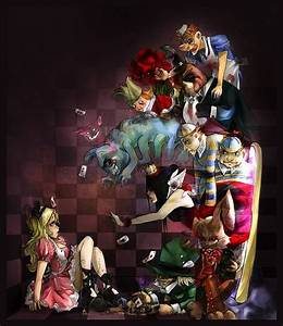 59 best Dark Alice in Wonderland Art images on Pinterest