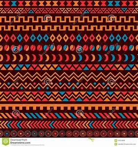 African Tribal Pattern Ethnic Ornament Stock Vector ...