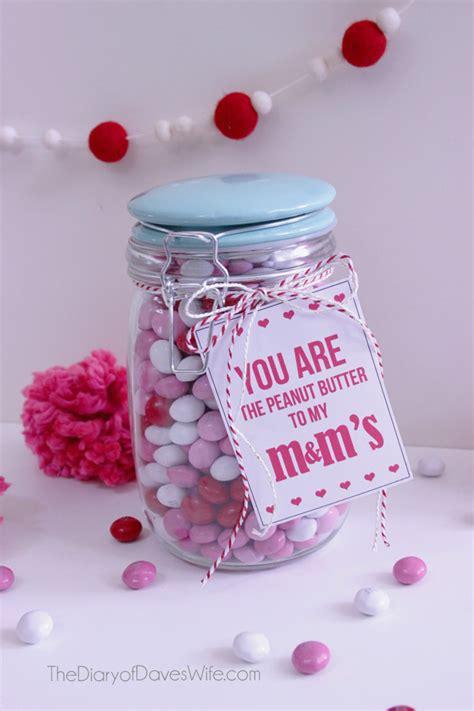 peanut butter mms valentine gift eighteen
