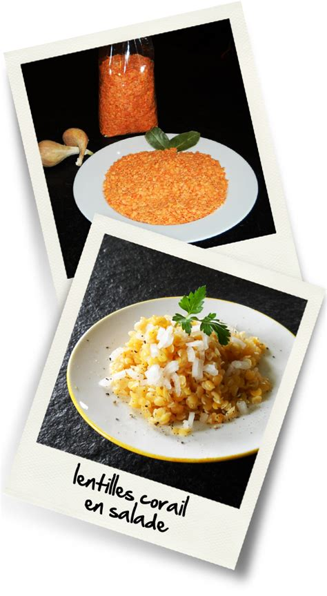 lentilles cuisine lentilles corail en salade christiane cuisine