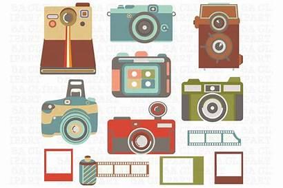 Camera Clipart Clip Cameras Graphic Creativemarket Template