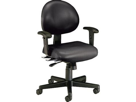 multi shift task office chair adjustable arms ofm 241va