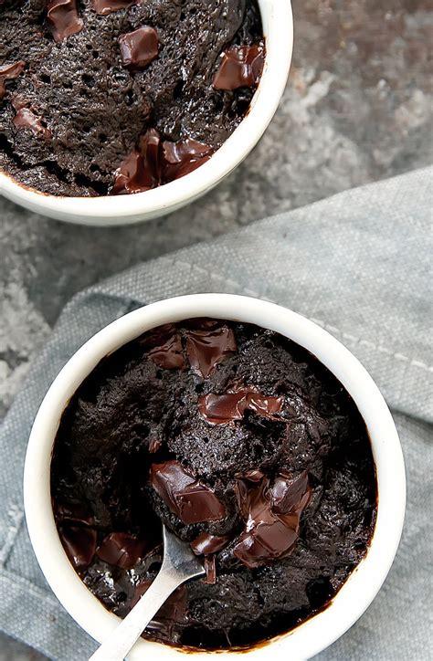 3 Ingredient Flourless Nutella Brownie Mug Cake - Kirbie's