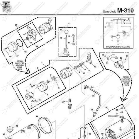 Monarch Wiring Diagram by Monarch Hydraulics M 310 Parts Diagram From Dynamics