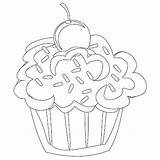 Cupcake Coloring Pages Cupcakes Cute Printable Adult Birthday Cat Colouring Cake Shopkin Adults Wonderful Designs Getcoloringpages Cartoon Ice Cream Clipart sketch template