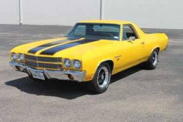 chevrolet el camino yellow  sale craigslist
