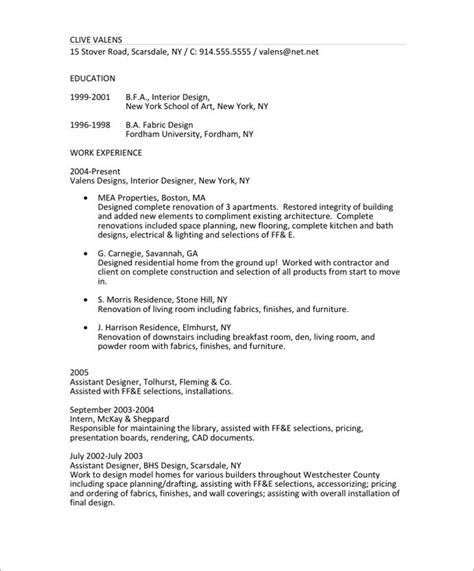 interior designer resume resume makeover blue