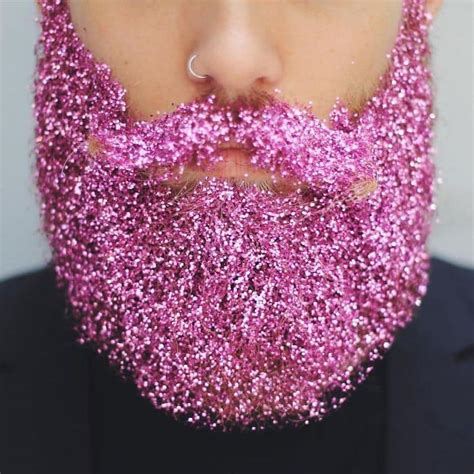 glitter beards  totally  trend   holidays