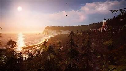 Arcadia Bay Strange Landscape Menu 4k Title