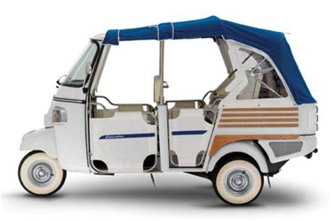 Piaggio Ape Mit Elektro Antrieb E Sel Aus E Talien Autobild De