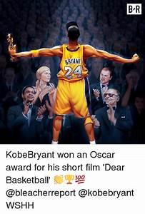 B-R BRYANT KobeBryant Won an Oscar Award for His Short ...