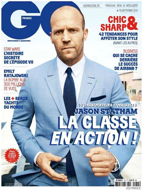 jason statham covers gq france september  issue
