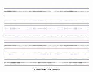 children who are just learning to write need paper with With learning to write paper template