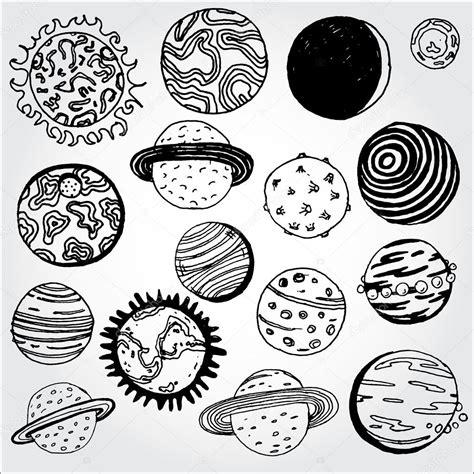 Set of Planets — Stock Vector © tsaplia #30845925