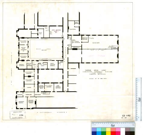 floor plans records floor plan central government buildings surveyor general s division state records office of wa