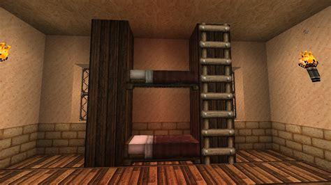 comment faire un lit superpos 233 dans minecraft minecraft aventure