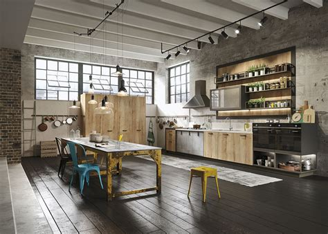 Loft Ideas by Kitchen Design For Lofts 3 Ideas From Snaidero
