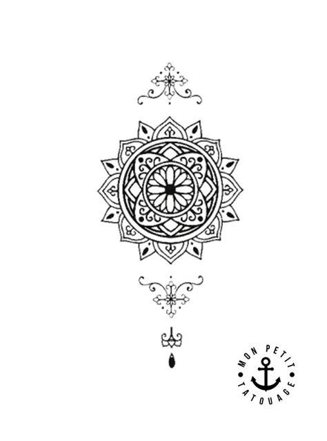 petit tatouage mandala temporaire mon petit tatouage