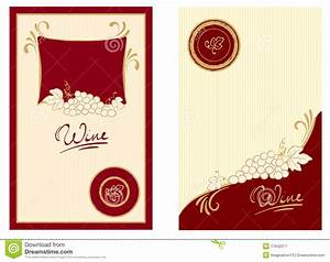 Wine labels with swirls stock vector illustration of gold for Free wine label maker