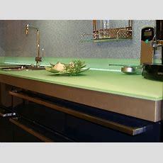 Glasarbeitsplatten Für Die Küche  Arbeitsplatten Bei