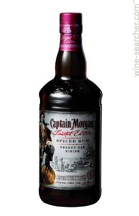 Captain Morgan Limited Edition Sherry Oak Finish Spiced