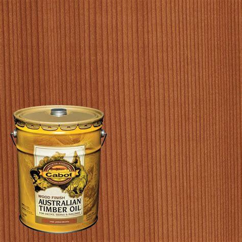 cabot  gal jarrah brown australian timber oil exterior