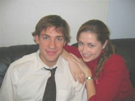 Jim And Pam. The Office They Look So Young Here! Like
