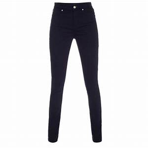 Paul smith Womenu0026#39;s Navy Denim High-waisted Skinny Jeans in Blue (navy) | Lyst