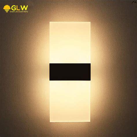 aliexpress buy glw modern wall light sconce living