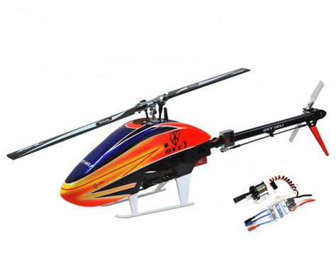 Electric Helicopter Motor by Oxy Heli Oxy 3 Flybarless Electric Helicopter Kit W Motor