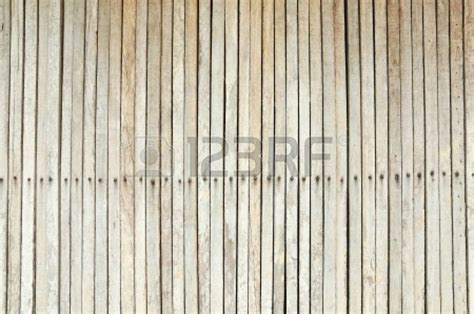 Wood Fence With Nails